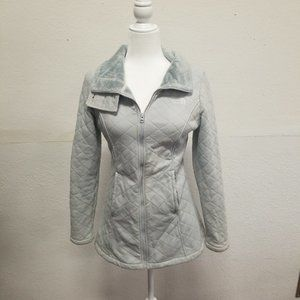 The North Face Caroluna Jacket - Gray Quilted